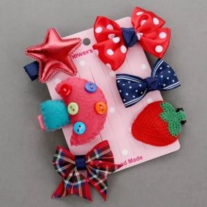 Other - ❤️Girls Hair Clip Set❤️